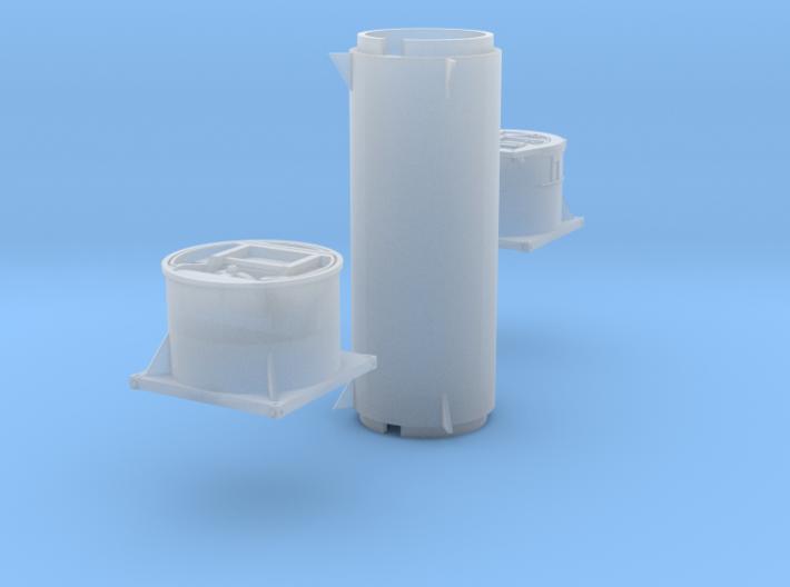 Pressmüllcontainer (TT 1:120) 3d printed