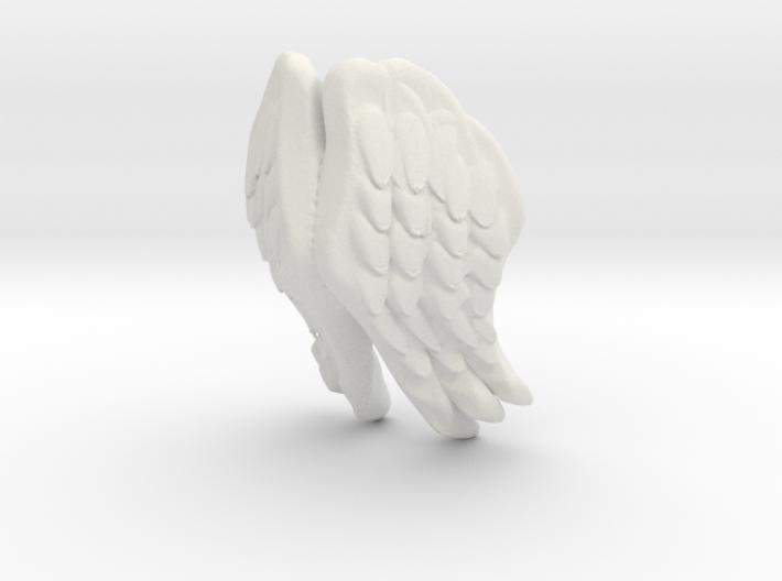 Printle Thing Angel Wings - I - 1/32 3d printed