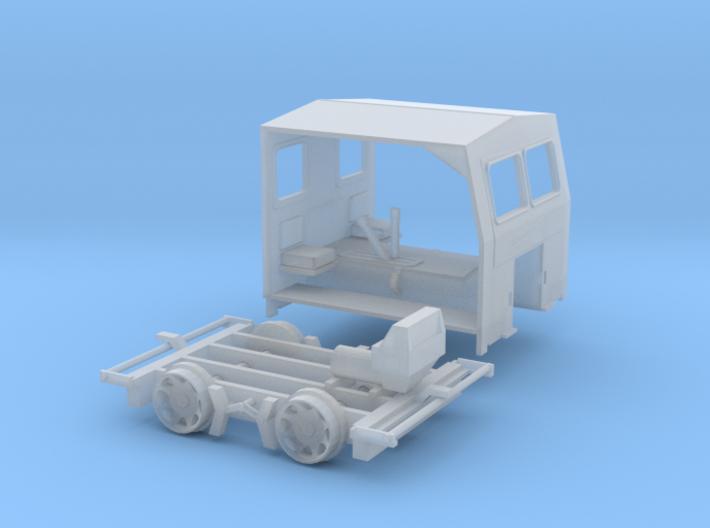 Sn42 Scale - Fairmont S2 Speeder 3d printed