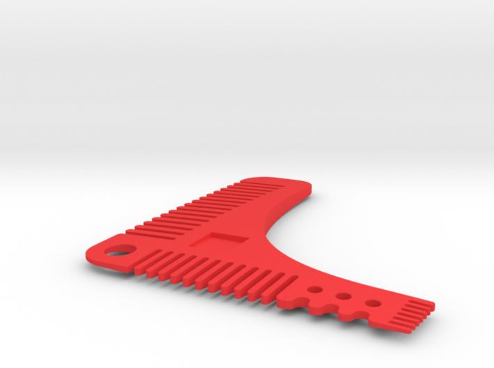 Perfect beard comb 3d printed