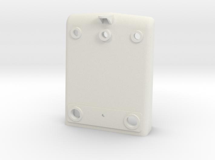 NS 2200 Huif front met zwaailicht steun, Scale 0 3d printed