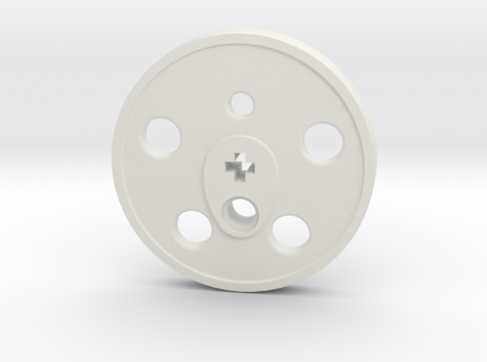 XXL Disc Driver - Blind, Small Counterweight 3d printed
