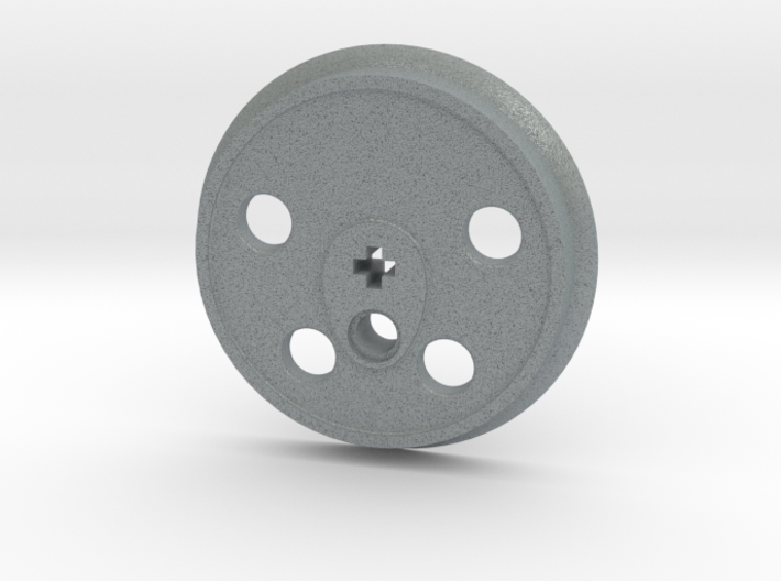 XXL Disc Driver - Large Counterweight, No Groove 3d printed