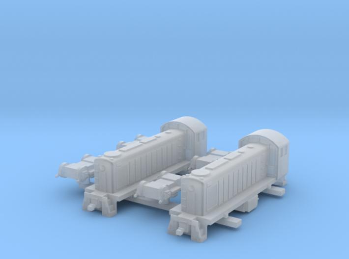 ALCO S1 US Locomotive, 1/350 3d printed