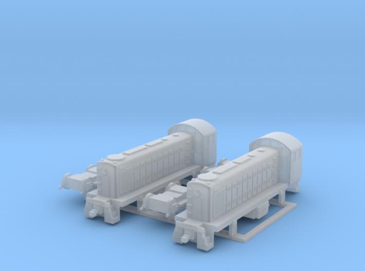 ALCO S1 US Locomotive, 1/200 3d printed
