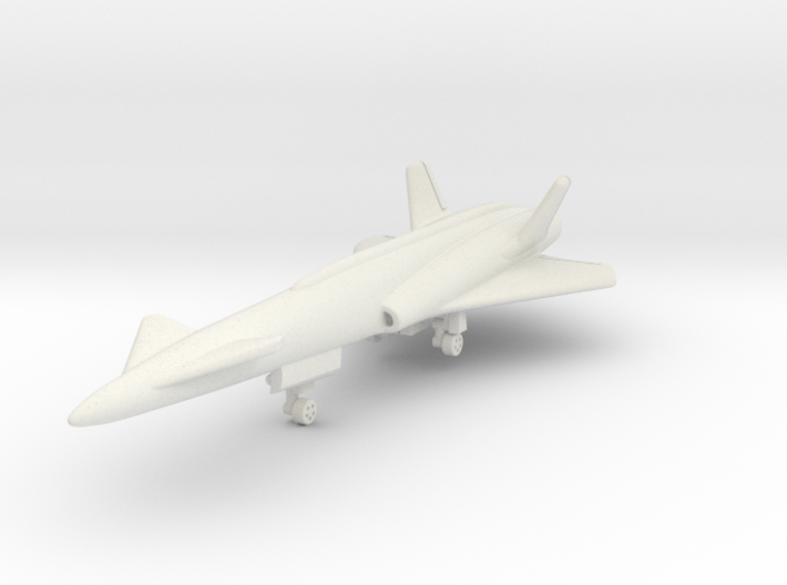 North American Aviation X-10 1/285 6mm 3d printed