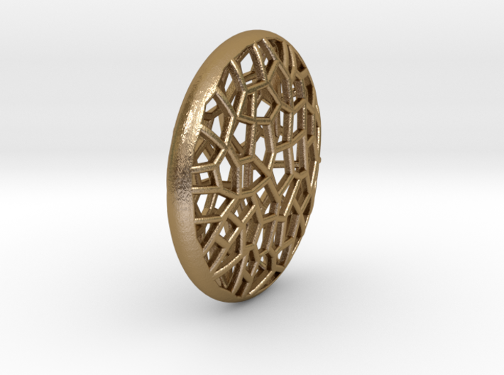 Bio Cell Pendant 3d printed