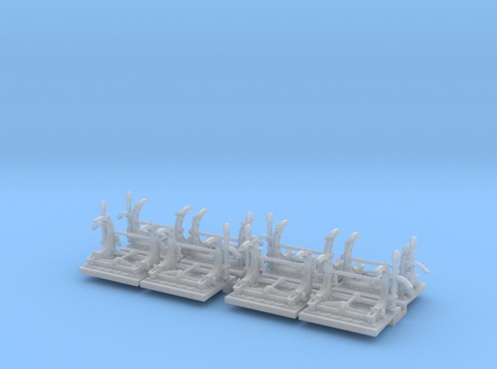 1/72 PT Torpedo Rack TypC Set004 3d printed