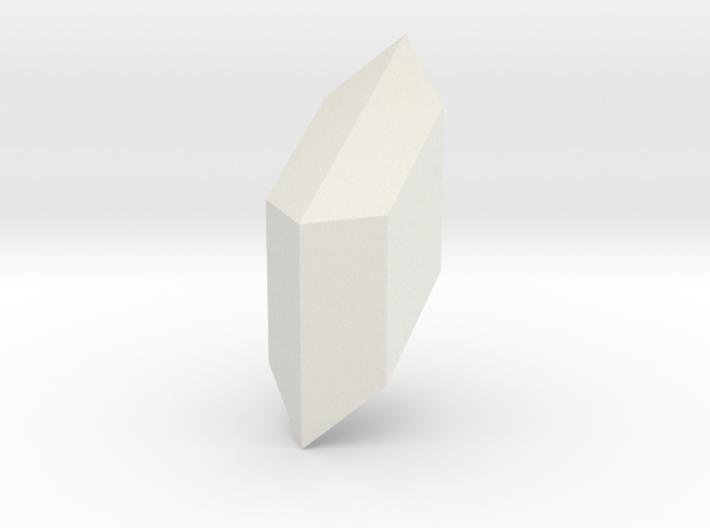 Gypsum, 25 mm 3d printed
