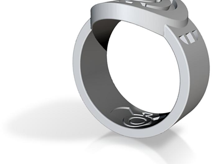 Blue Hope FF Ring 13 3d printed