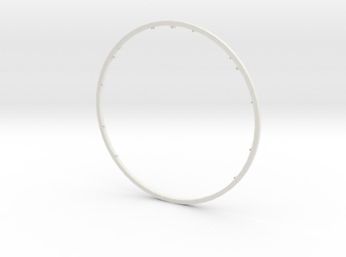 Super Loops Inertia Ring 3d printed