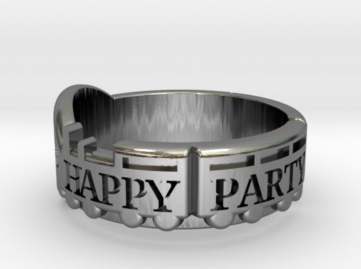 Happy Party Train Tour Ring - Love Live - Aqours 3d printed