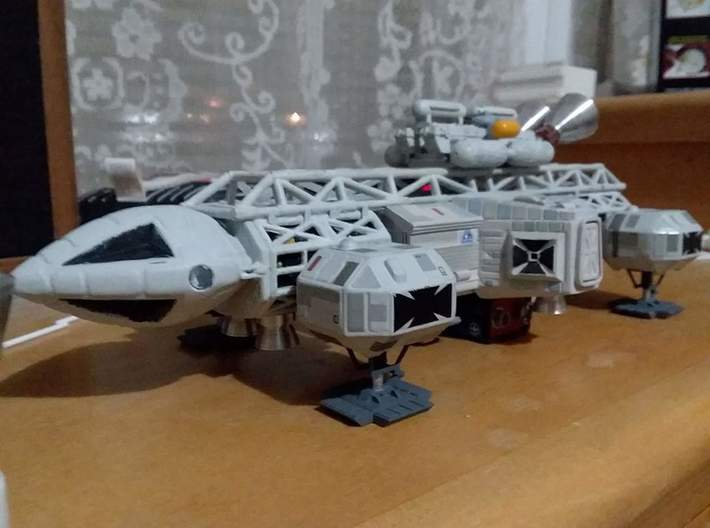 """Moongear set of four for 12"""" Eagle Kit! 3d printed Finished model courtesy Paul Costello"""