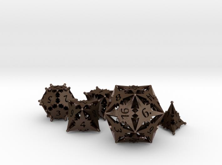 Starlight Dice Set - Balanced 3d printed