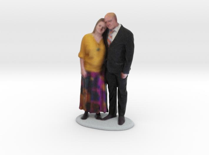 Katie & Andrew 3d printed