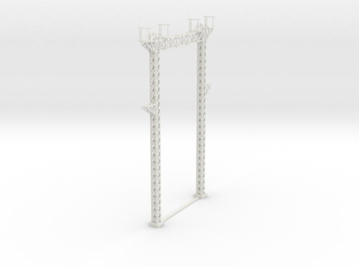 PRR SUB STATION BREAKER GANTRY 3d printed