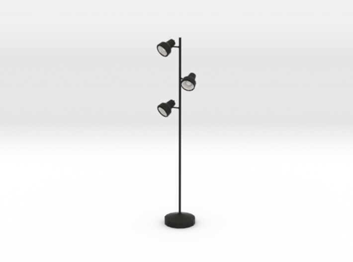 'Office Days' Triple Floor Lamp 1:12 Dollhouse 3d printed