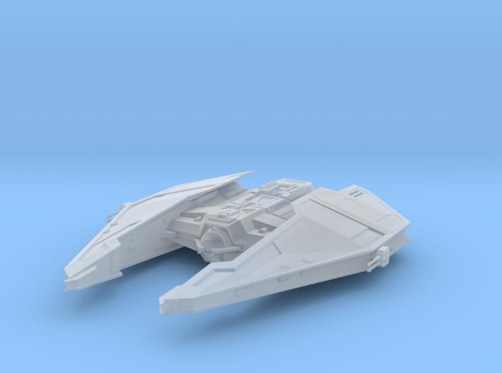 Sith Fury-class Imperial Interceptor - Alternative 3d printed