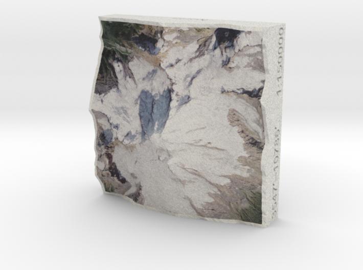 Mt. Baker, Washington, USA, 1:150000 Explorer 3d printed
