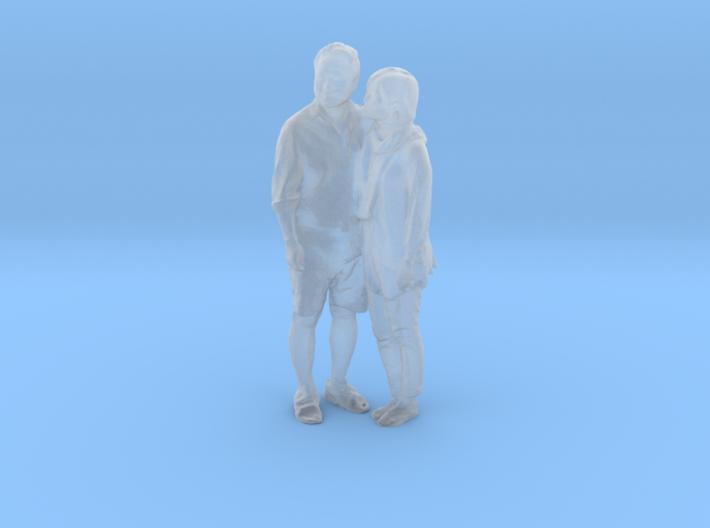 Printle C Couple 018 - 1/48 - wob 3d printed
