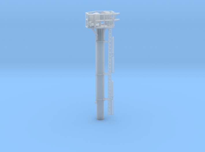 HO Tropic Breeze Orchard Wind Generator 3d printed