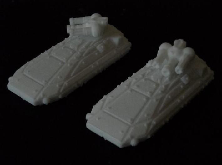 MG144-CT005A Cohesion Suppression Tank (2) 3d printed Models in WSF