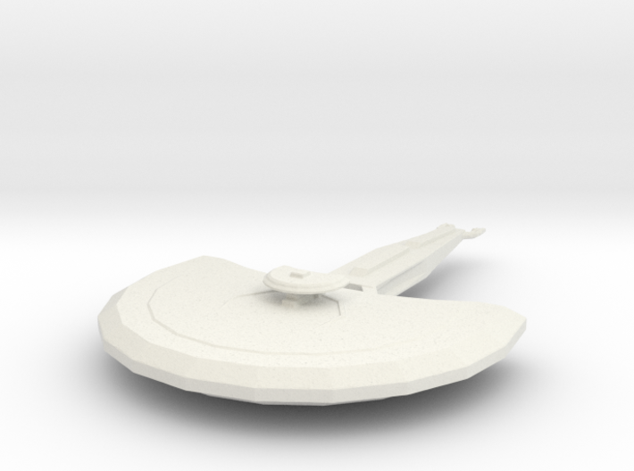 Cardassian Light Cruiser 3d printed