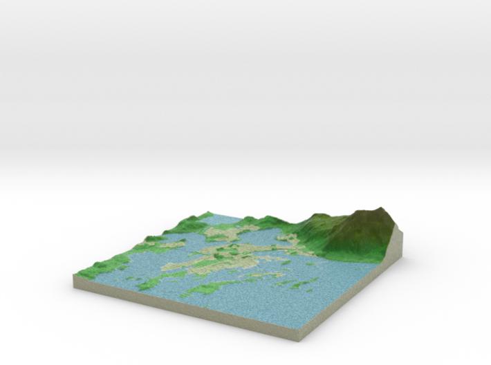 Terrafab generated model Thu Jun 29 2017 23:05:21 3d printed