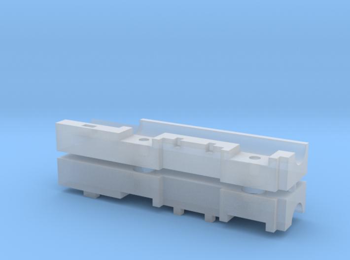 Doppelgetriebe 15.5mm 19z 3d printed