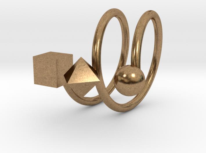 Trispirale size 52 3d printed