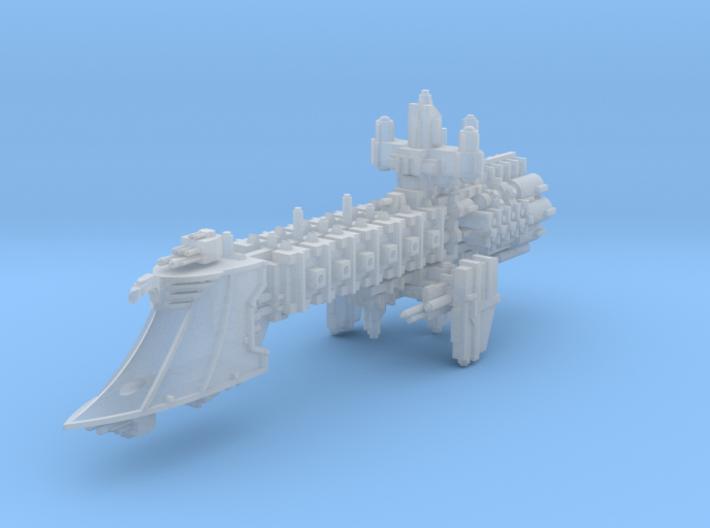 Stalwart Light Cruiser 3d printed