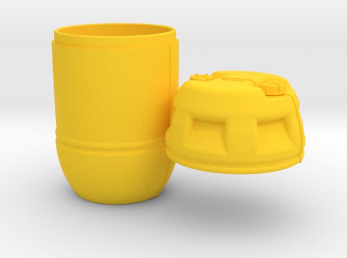 1/8 Shark Hunter Barrel 3d printed