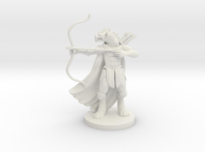 Gnoll Hunter 3d printed