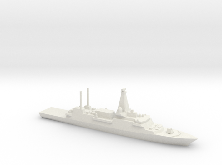 Type 26 frigate (2017 Proposal), 1/2400 3d printed