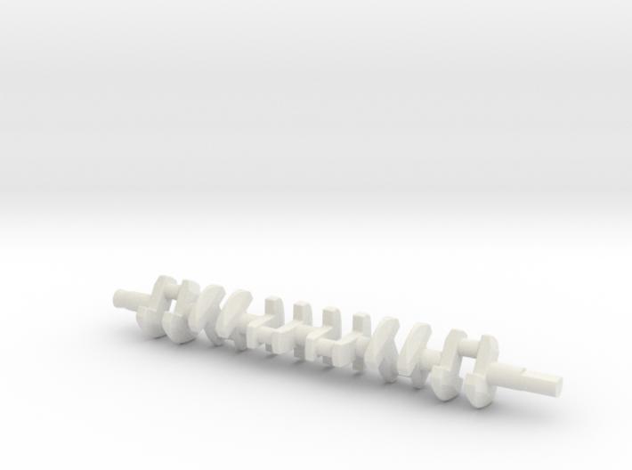 ScaledEngines_2JZ-crankshaft 3d printed