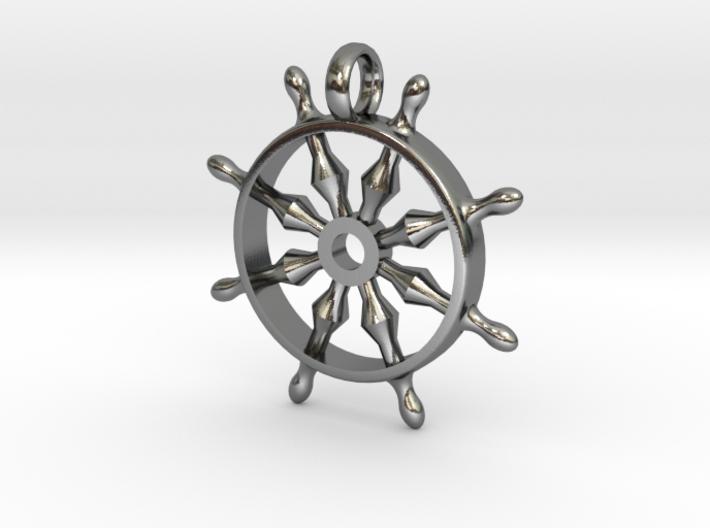Bar [pendant] 3d printed
