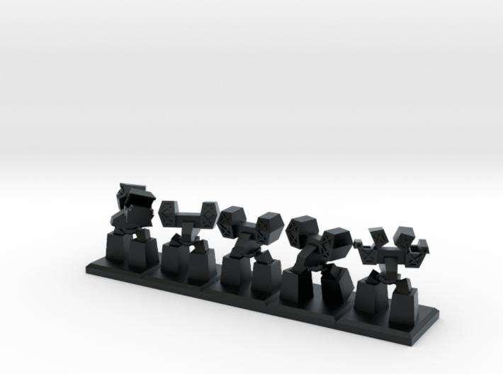 TA ARM Jethro Squad - 1cm tall 3d printed