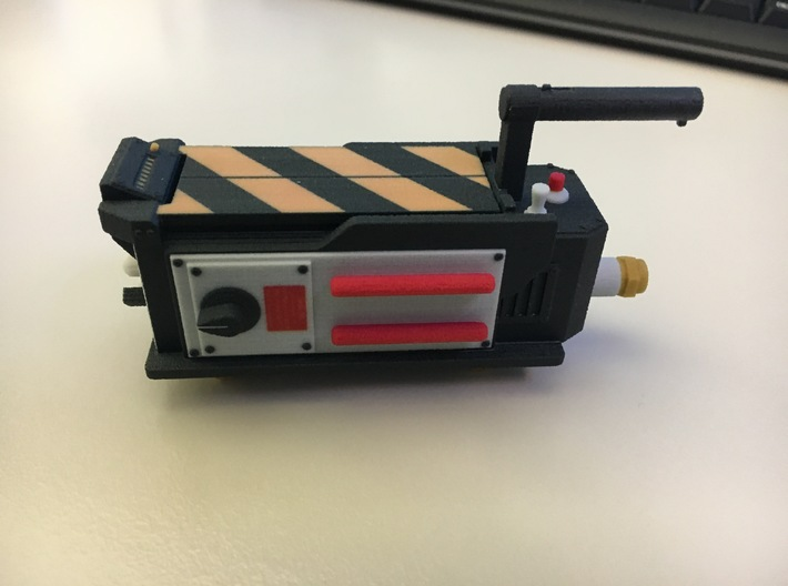Stranger Things - Ghostbusters Ghost Trap [100mm] 3d printed