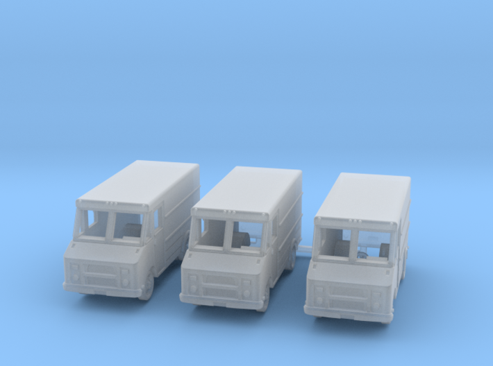 Step Van, 3-pack R3 3d printed