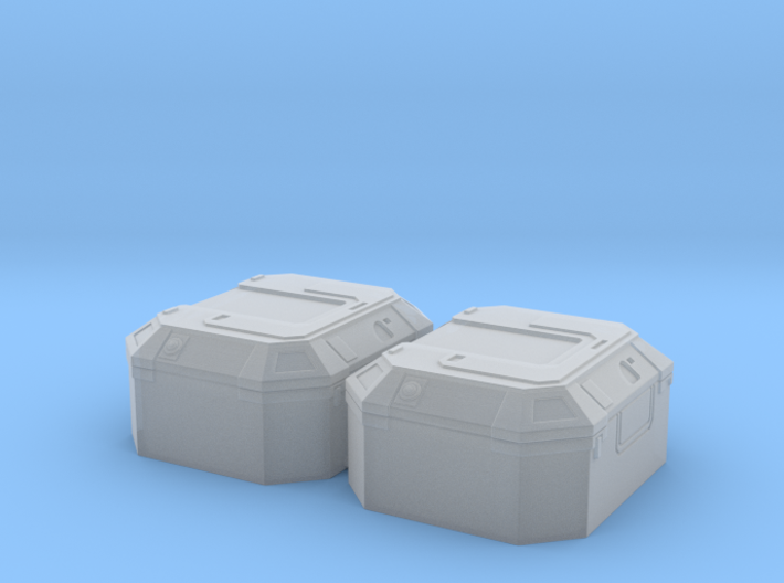 1:78 SW Lg Equipment Box 3d printed