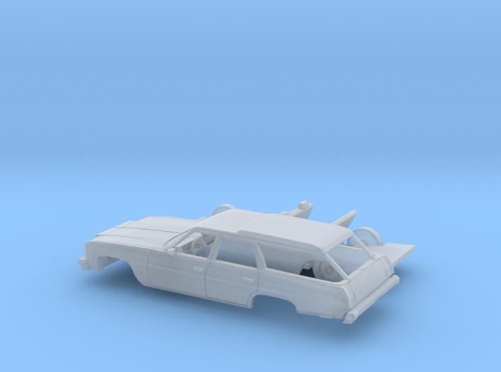 1/87 1976 Chevrolet Impala Station Wagon Kit 3d printed