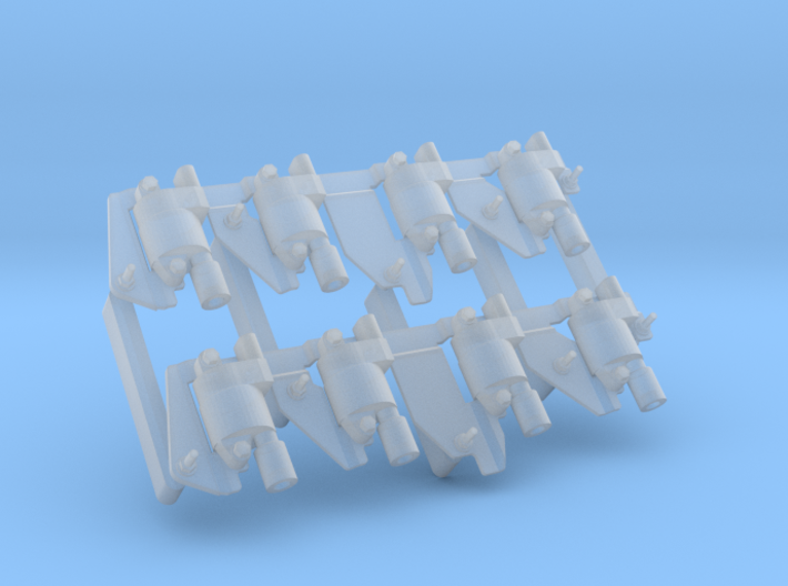 LS Coil Pack Assembly 3d printed