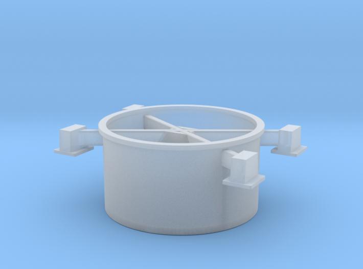 top overflow 3d printed