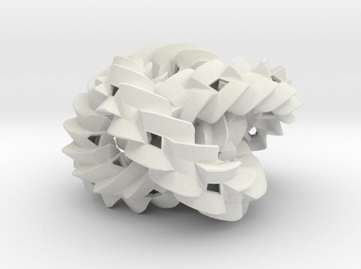 Triple gear (small) 3d printed