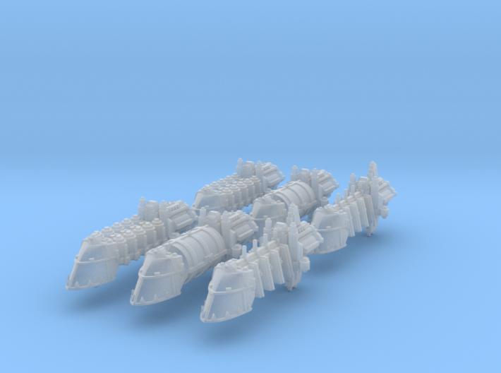 Evil Transports (6) 3d printed
