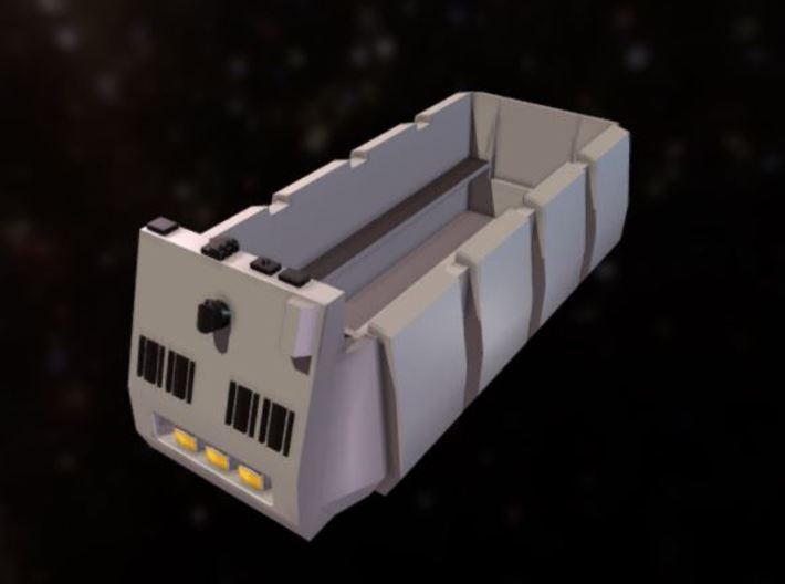 Rebel Troop Carrier 1:43 Ver.2 with benches 3d printed
