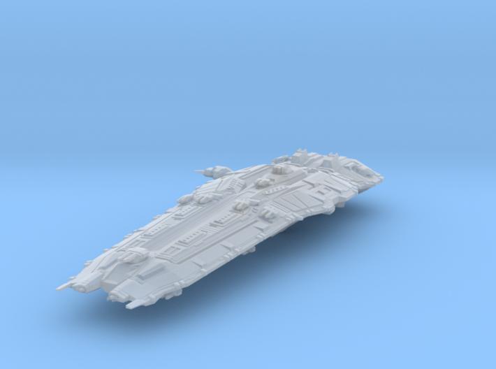 Hiigaran Battleship 3d printed