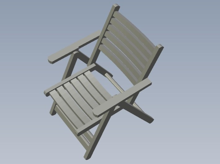 1/35 scale wooden chairs set B x 10 3d printed