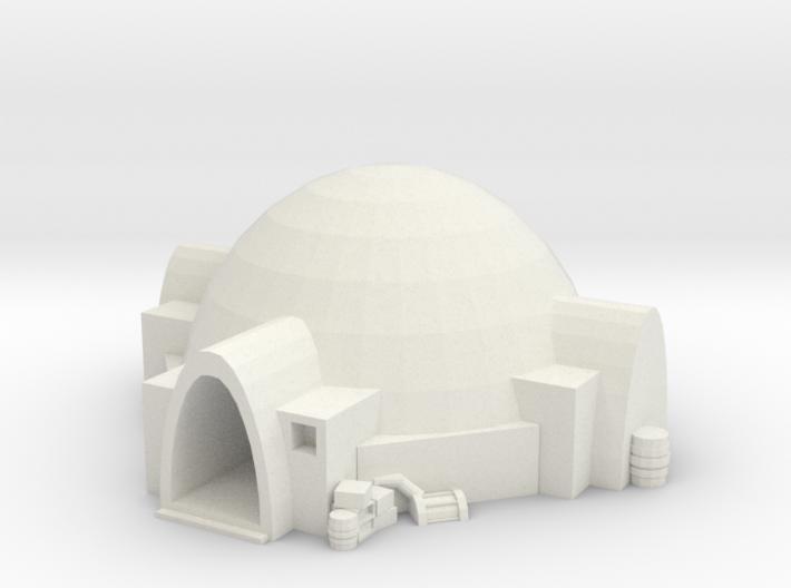 Tatooine Nomad Hut 3d printed
