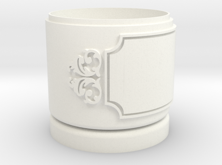 Gift Box small with Stars, Ornament & Label No. 3 3d printed